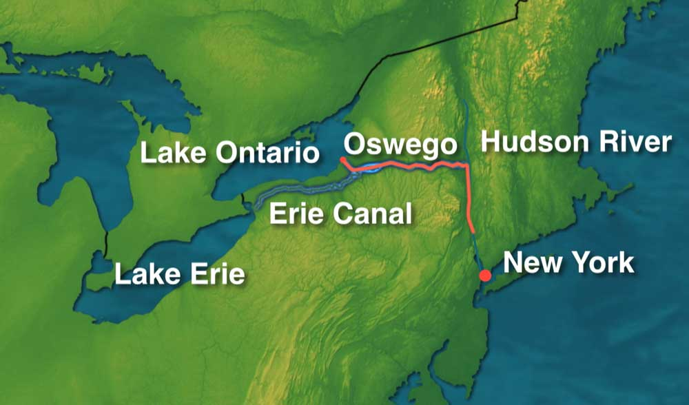 Southbound Part 1 Erie Canal Sailing Blog Technical