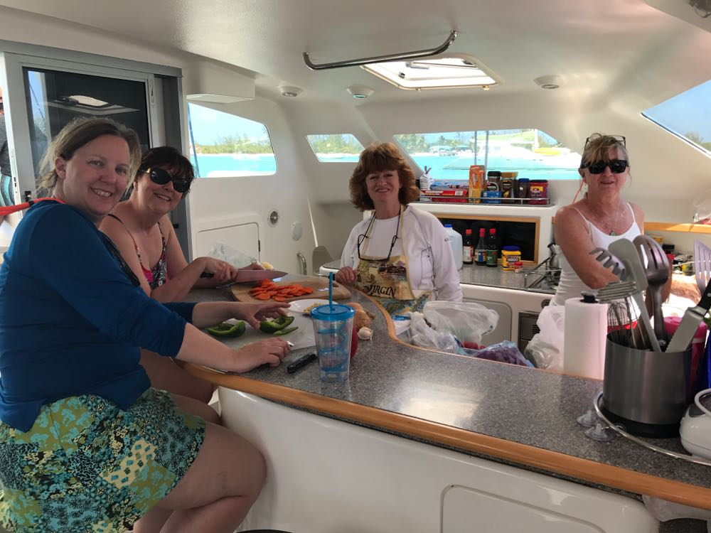 voyage-500-cat-review-galley-crew